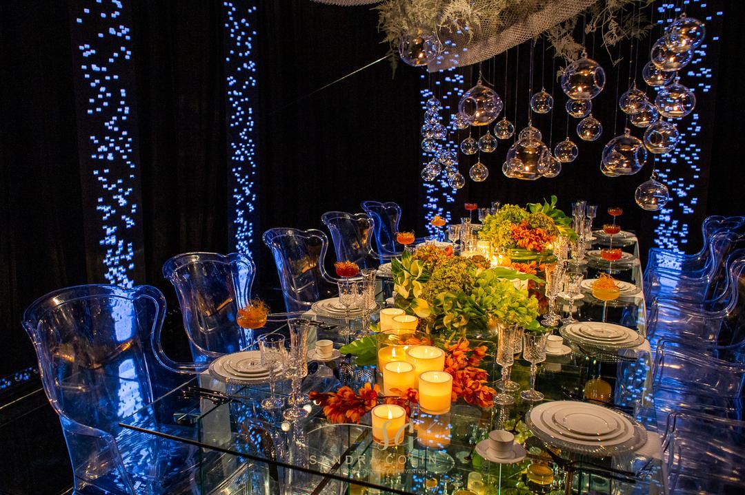 Casamento moderno: decoração estilo balada