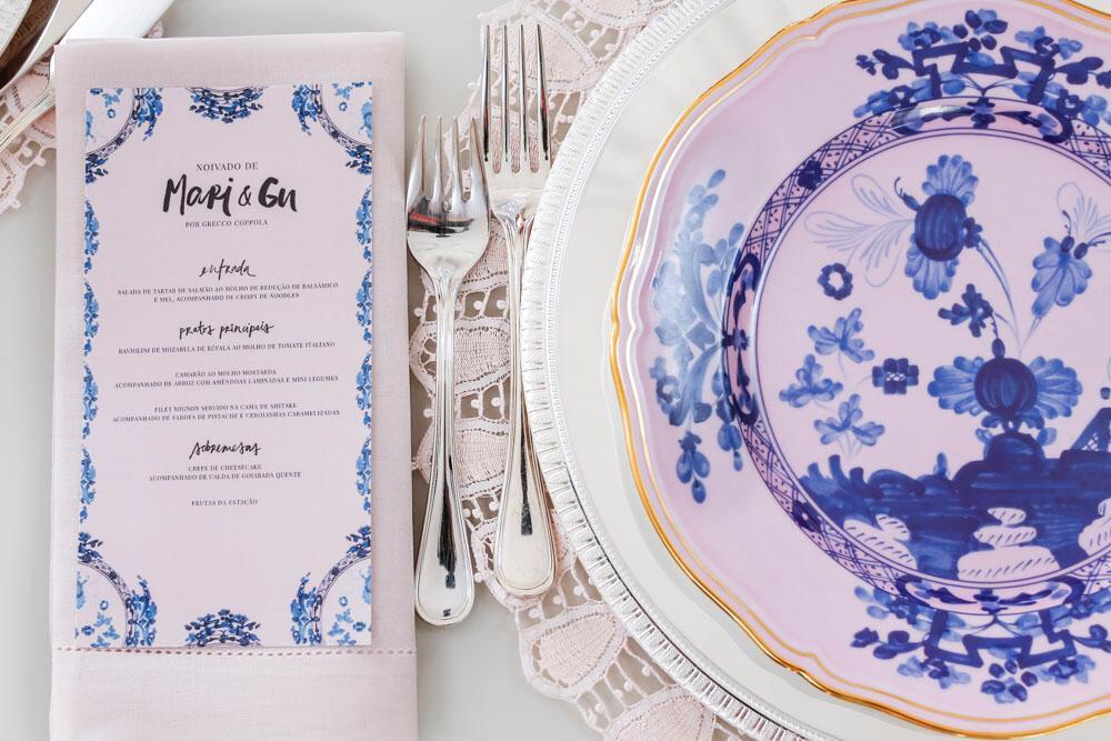 Disposição de talheres na decoração de casamento