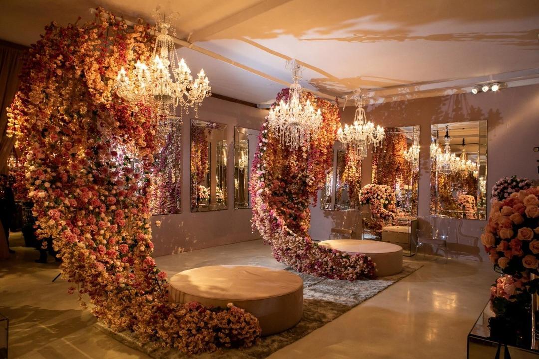 Festa de 15 anos: decoração em tons de rosa