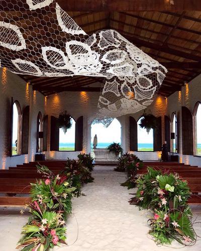 Casamento na praia em São Miguel dos Milagres